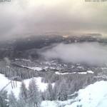 Aprica neve a Novembre da Webcam